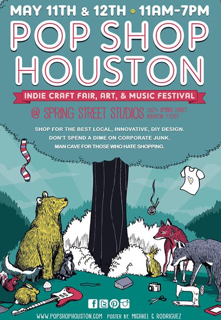 Zine Fest Houston at Pop Shop Houston!